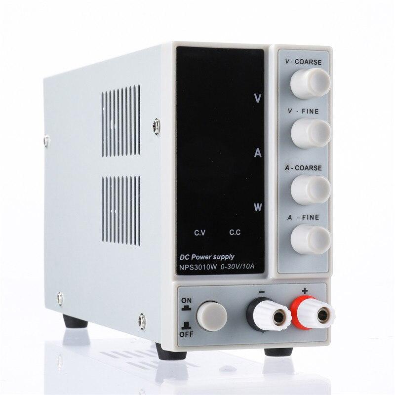 NPS3010W 110 V/220 V alimentation cc réglable numérique 0-30V 0-10A 300W alimentation à découpage de laboratoire régulée