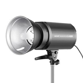 Neewer lampa błyskowa światło stroboskopowe Monolight 400W GN60 5600K z lampą modelującą do fotografii studyjnej (S400N) wtyczka EU US tanie i dobre opinie Canon Pentax Olympus Sony SAMSUNG Fujifilm mamiya NIKON Leica Sigma Lumix 10090732 10090730 3 3KG 38 5*23 5*17 5 220V 50-60Hz