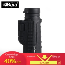 BIJIA 10x42 High Quality Monocular Vision Telescope for Hunting Power with BaK4 Prism