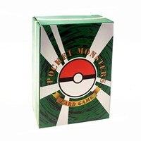 Juego de cartas de Pokémon 20 Gx + 20 Mega + 59 E X + 1, caja de refuerzo de intercambio de tarjetas de energía, colección de juguetes de batalla para Niños #3, 100 Uds.