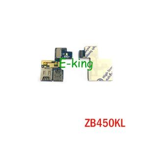 10 шт. лоток для считывания Sim-карт для ASUS Zenfone Go ZB450KL держатель карты памяти Micro SD слот гибкий кабель запасные части
