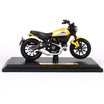 Maisto 1/18 1:18 Scale Ducati Scambler Motorcycles Motorbikes Diecast Display Models Birthday Gift Toy For Boys Kids maisto 1 18 1 18 scale ducati 848 motorcycles motorbikes diecast display models birthday gift toy for boys kids