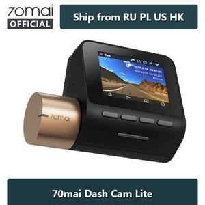 70mai Dash Cam Lite 1080P GPS Speed Function 70 mai Cam Lite 24H Parking Monitor 1080P 130FOV Night Vision 70MAI Wifi Car DVR(China)