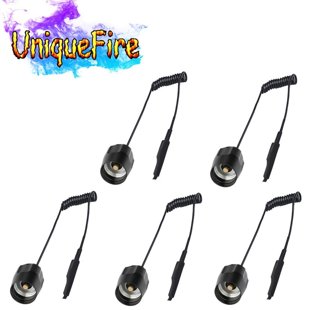 UniqueFire 5 pcs/ot Remote Press Flashlight Switch / Tail For UF 1407 IR Light Night Vision Torch