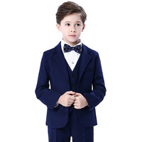 Children Wedding Suit for Boys Long Sleeves Shirts 2 8 Years Boys Suits and Blazers 3pcs Handsome Toddler Boys Clothing Set New