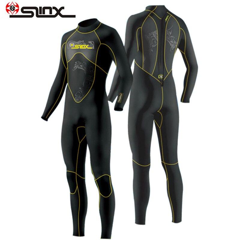 Slinx 1101 combinaison de plongée hommes 3mm combinaison de plongée néoprène combinaison de natation Surf Triathlon combinaison humide maillot de bain combinaison complète