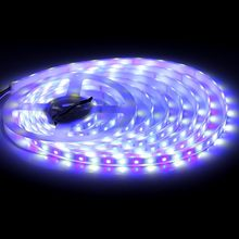 Led Lights 1M/5M/10M for Bedroom Smart Work with Music Sync Color Changing Tape 24 Key Remote Flexible 5050 RGBW 60/leds Ribbon