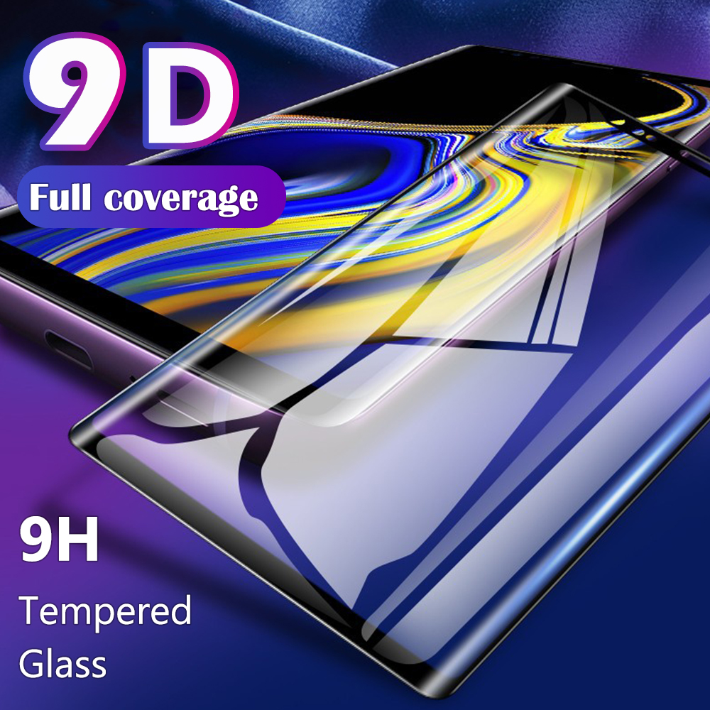 For <font><b>Samsung</b></font> Galaxy Note10 Note 9 8 <font><b>S10</b></font> S10e S9 S8 7 Plus 5G 3D Full <font><b>Cover</b></font> Slim Curved Tempered Glass Film <font><b>Screen</b></font> Protector Guard image