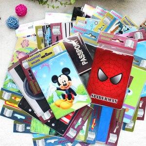 Cartoon Animal Passport Cover Travel Accessories PVC Casual Passport Holder Business Pass Holder Women Wallet Credit Id Card(China)
