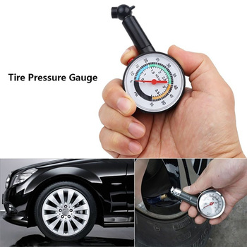 0-55 psi Tire pressure monitoring system Tire Pressure Gauge Dial Meter wheel air pressure Tester for Auto Motor Car Truck image