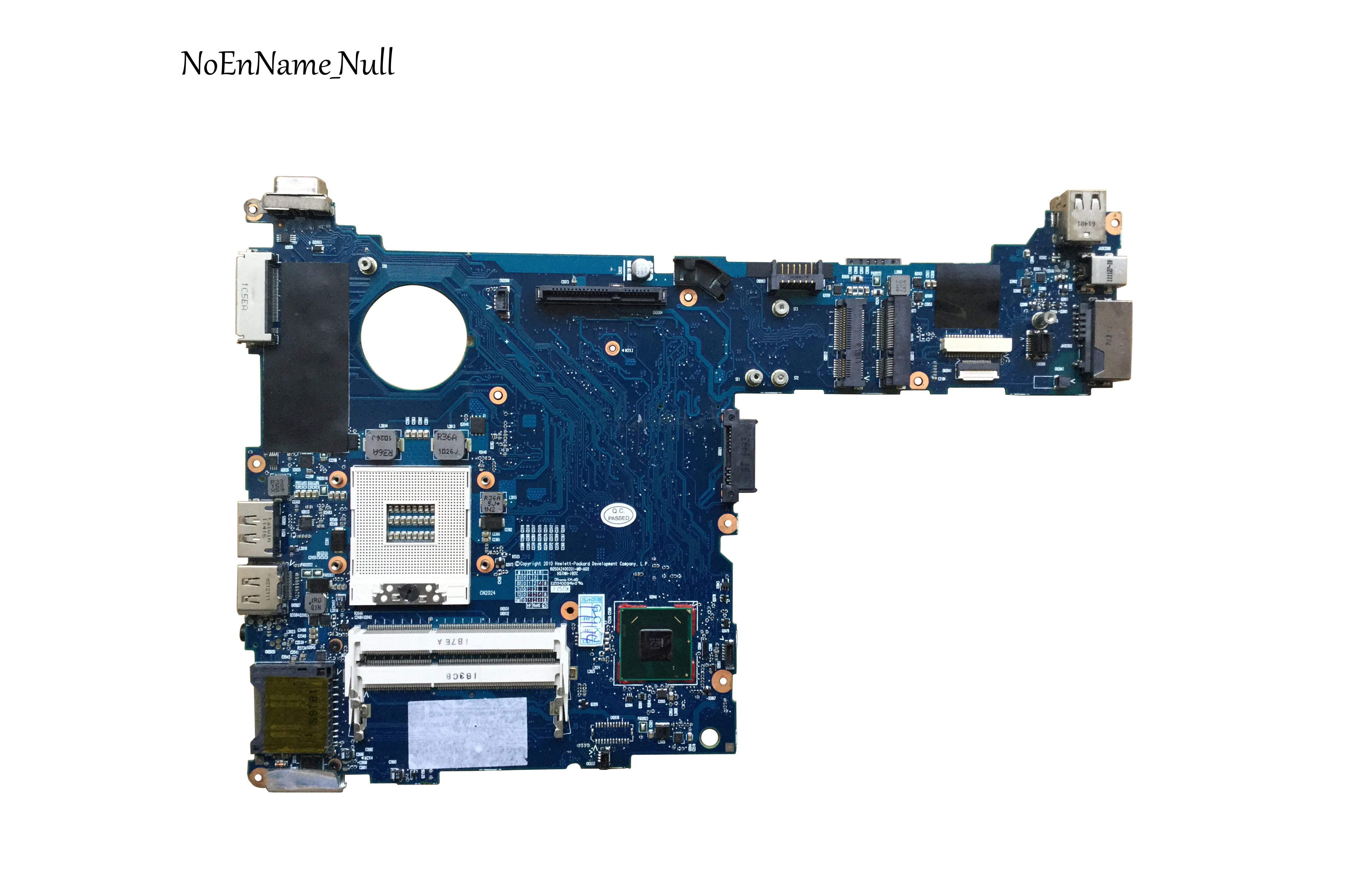 Free Shipping Original 651358-001 Fit For HP 2560P Series Laptop Motherboard QM67 6050A2400201-MB-A2 Mainboard 100% Test OK
