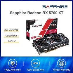 Sapphire Radeon RX 5700 XT 8GD6 256bit PUBG gry komputerowe karta graficzna Platinum Edition OC wysokiej klasy karta graficzna PCI DP/HDMI