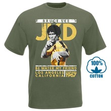 Bruce Lee Mens New T Shirt  Jay Kay Dee In Black Heather Sizes Sm 4Xl