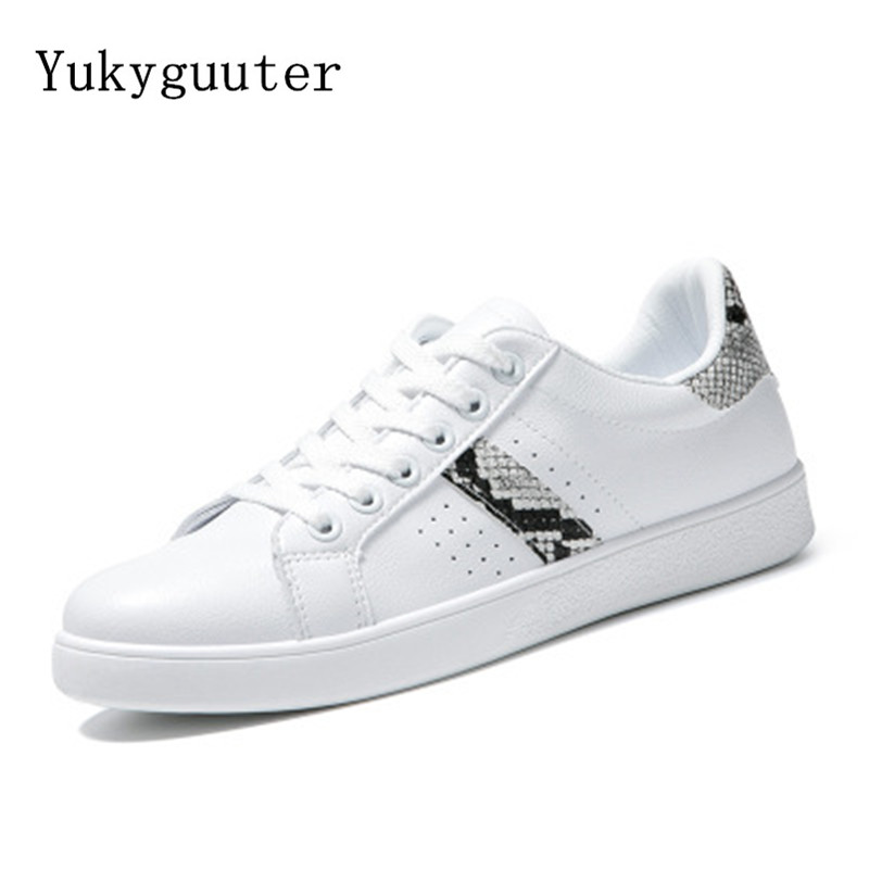 Sneakers Women Chunky Shoes Fashion Outdoor Athletic Breathable Lace Up Flats White Skateboarding Female Sport High Quality
