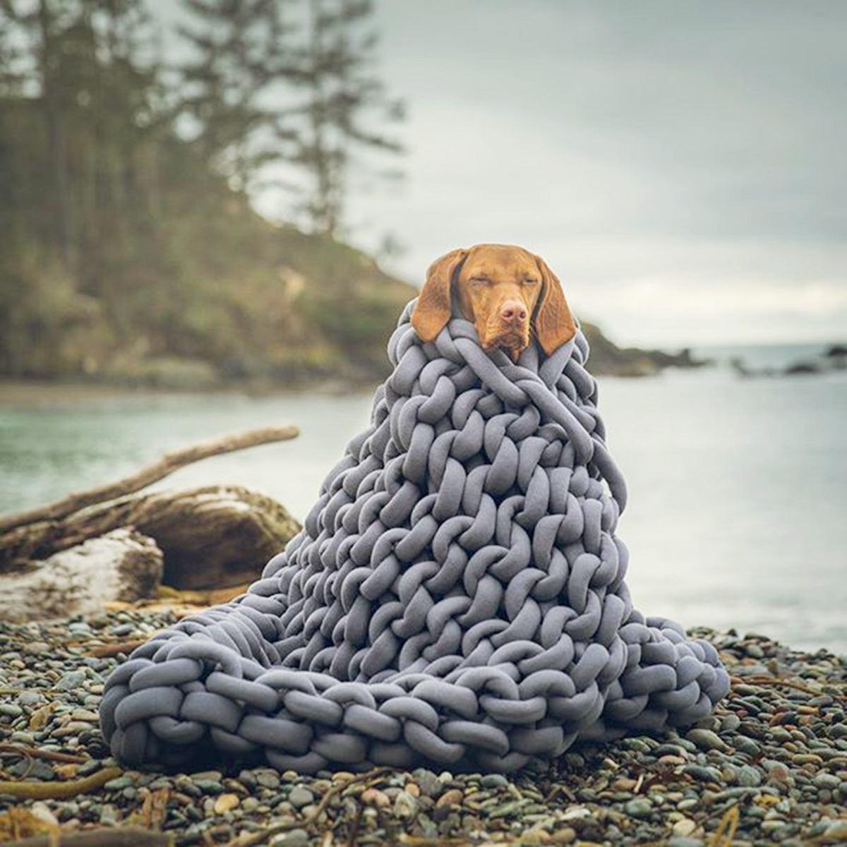 120x150 см вязаное одеяло для дивана ручной работы, мягкое теплое толстое Хлопковое одеяло, зимнее элегантное уютное теплое постельное белье - 2