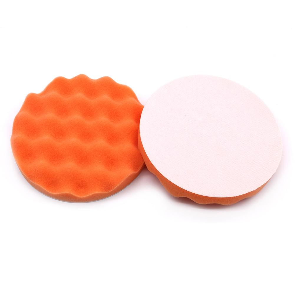 6 Inch 150mm Sponge Polishing Pad Kit For Car Polisher Home DIY Waxing Buffing Foam Pad Auto Polishing Sponge Disk Head Pad
