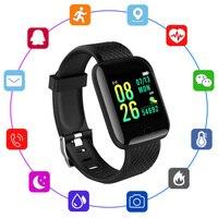 Smart Band pressione sanguigna frequenza cardiaca Monitor sano Fitness Tracker Smart Watch bracciale sport impermeabili uomo donna bambini