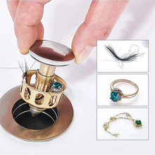 FILTER-COVER Drain Faucet-Accessories Hair-Catcher Shower Bathroom-Plug Copper with Basket