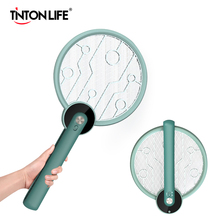 Portable Electric Mosquito Swatter Trap Foldable USB Rechargeable Mosquito Killer Handheld Fly Killer Swatter Bug Zapper 2200V