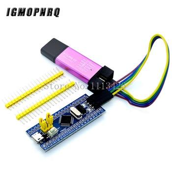 STM32F103C8T6 ARM STM32 Minimum System Development Board Module For Arduino DIY Kit + ST-Link V2 Mini STM8 Simulator Download