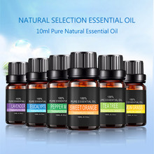 100% Pure Natural Essential Oils for Aromatherapy Diffusers Lavender Tea Tree Mint Lemon Water Soluble Relieve Stress Essence