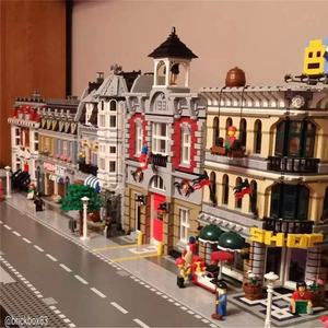 Image 3 - 都市ストリートビューシリーズ 15001 15002 15003 15004 15005 15006 15007 15008 15009 15010 12 組み立てビルディングブロックパズルおもちゃ