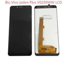 Do wyświetlacza LCD Blu Vivo One Plus V0290WW z cyfrowym cyfrowym digitizerem montaż panelu szkła czarny