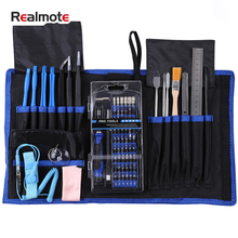 Realmote  82 In 1 With 57 Bit Driver Kit Precision Screwdriver Set Hand Tools For Phones Computer Repair Toolkit