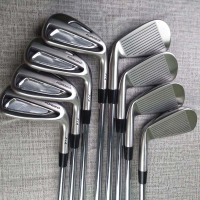 A Golf clubs P2 714 irons set 3-9P Golf irons  Forged irons graphite and Steel Shafts R or S Golf shaft Free shipping