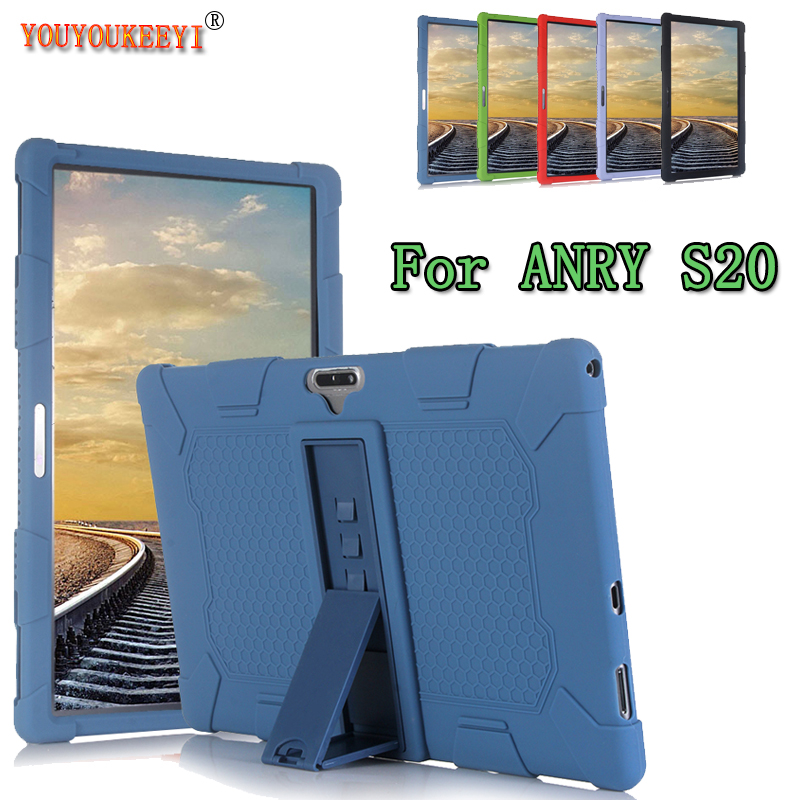 Silicone Case For ANRY S20 11.6inch Tablet Pc Comes With Stand Function Anti-fall Protection Cover For ANRY S21 + Stylus As Gift