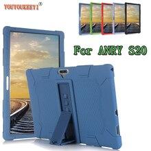 Силиконовый чехол для планшета ANRY S20 11,6 дюйма, в комплекте с подставкой, защитный чехол от падения для ANRY S21 +, стилус в подарок