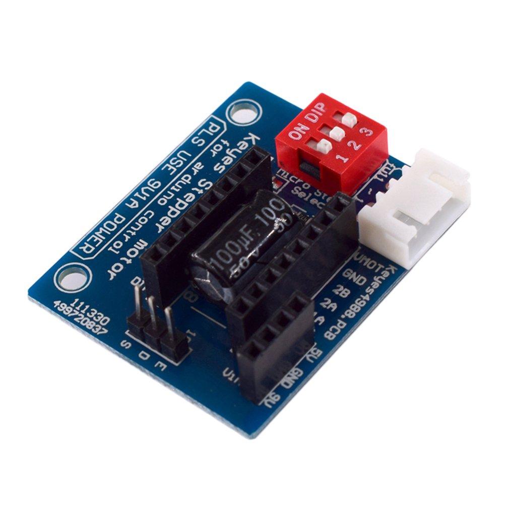 1PC HW-434 A4988 DRV8825 Stepper Motor Driver Control Panel Board Expansion Shield Board Module For 3D Printer