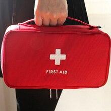 חדש העזרה הראשונה ערכת חירום רפואי ערכת העזרה הראשונה תיק עמיד למים רכב ערכות תיק חיצוני נסיעות הישרדות ערכת ריק תיק