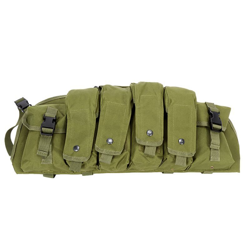 Chest Vest In The Free Air Military Camouflage Tactica Airsoft Collection Combat Vest Transportation Rig Breast Munition Bp43 in Outdoor Tools from Sports Entertainment