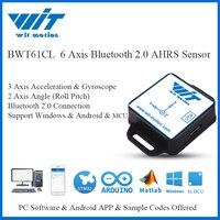 WitMotion-Sensor Digital BWT61CL de 6 ejes, Inclinómetro de ángulo de inclinación + aceleración + giroscopio MPU6050 en PC/Android/MCU, Bluetooth 2,0