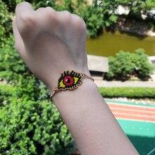 FAIRYWOO Gothic Evil Eye Bracelet Miyuki Pulseras Mujer Moda 2019 Stainless Steel Vintage best friend bracelets Gift