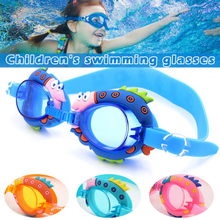 Swimming Goggles Cute Light Anti fog Glasses Kids Diving surfing goggles Boy Girl Optical Reduce Glare Eyewear D40