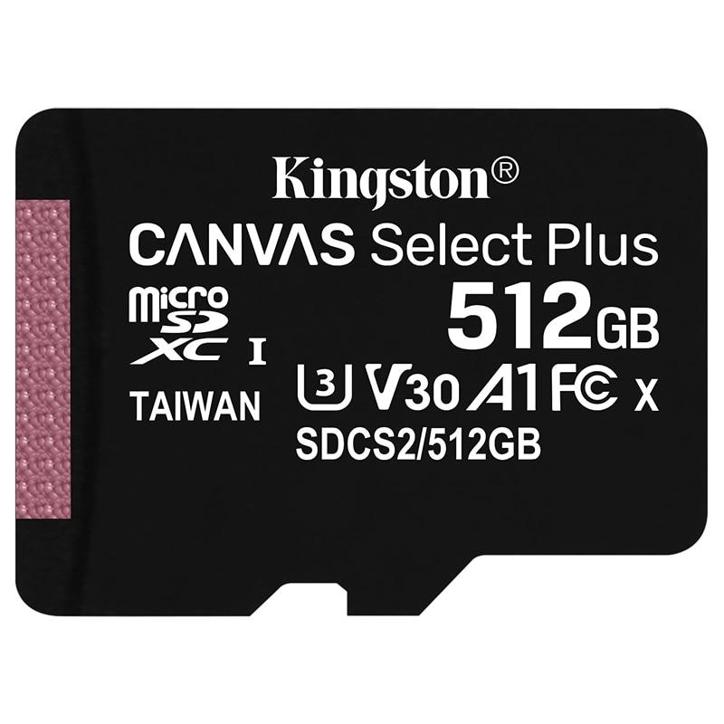 TARJETAS DE MEMORIA MICRO SD CLASE 10 64GB 128GB 256 GB KINGSTON LECTURA RAPIDA