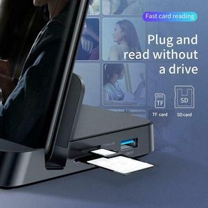Image 3 - Док станция для телефона Huawei Samsung, док станция с разъемом USB C HDMI, адаптер питания