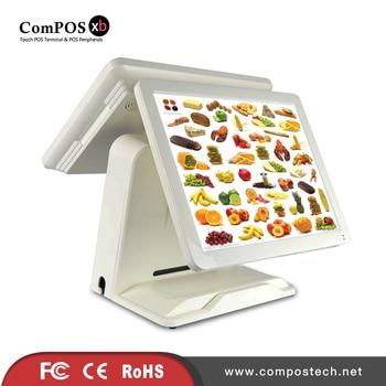 PC windows cash register high quality dual screen pos terminal restaurant retail pos hardware