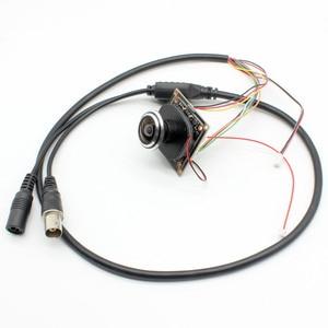 "Image 3 - HD 1080P AHD 1/2. 9 ""Sony IMX323 + NVP2441 Starlight נמוך תאורת CCTV לוח מצלמה מודול PCB + 1.7mm fisheye עדשה"