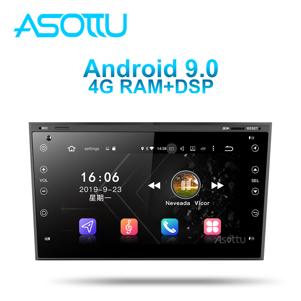 Asottu OB601 Android 9,0 PX6 для OPEL Astra H Meriva Antara Zafira Veda Agila Corsa Vectra автомобильный dvd gps навигация