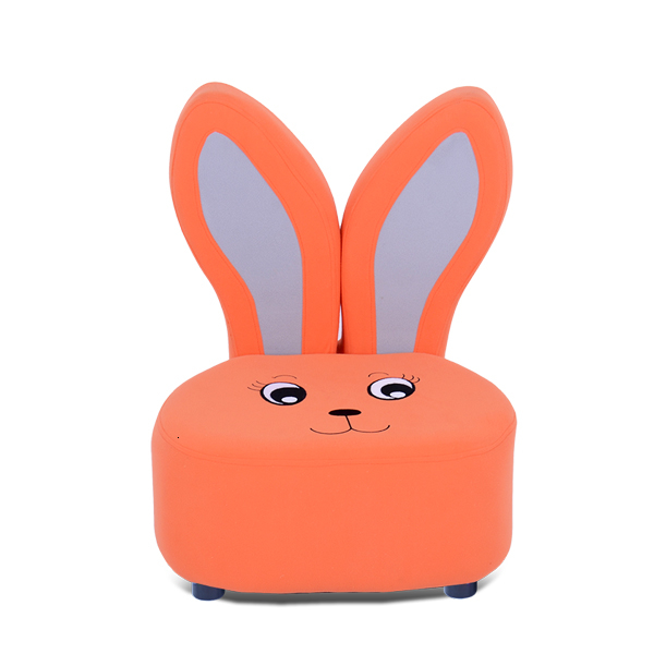Lovely Stay League Rabbit Child Sofa Chair Stool One Seat Children Sofa Baby Study Small Kid Sofa Bean Bag Zitzak