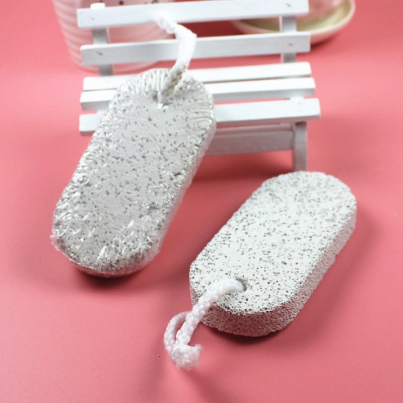 Naturalne pumeks kamień jest twój plik narzędzie do pielęgnacji stóp skruber urządzenie do usuwania zrogowaciałego naskórka Pedicure szczotka łazienka produkty zdrowe Dropship
