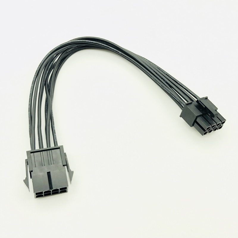 8Pin <font><b>CPU</b></font> Power Cable <font><b>8</b></font> <font><b>Pin</b></font> PCI-E to <font><b>8</b></font> <font><b>Pin</b></font> ATX EPS Male to Female PSU Motherboard Power Supply Extension <font><b>Adapter</b></font> Cable 20cm 18AWG image