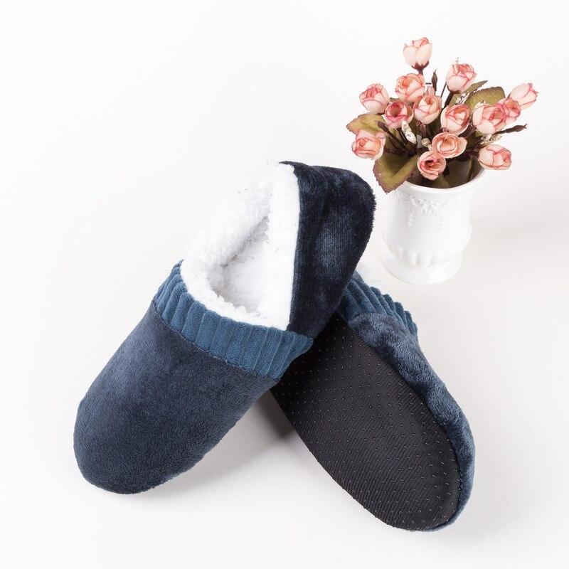 Helisopus 1 Pair Winter Men's Thicken Warm Floor Socks Non Slip Indoor Floor Home Socks Fashion Slipper Socks For Men's Gift
