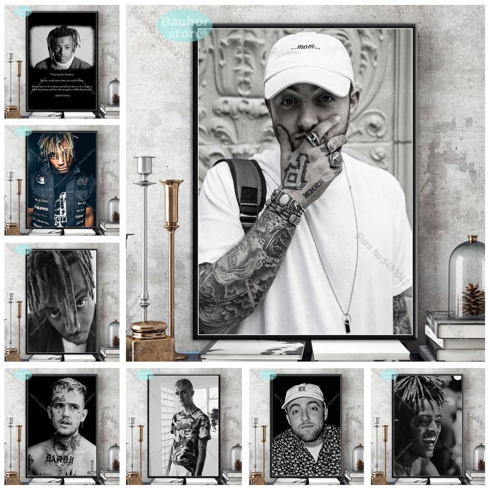 Mac Miller Young Rap Hip Hop Music Star Singer Fabric Poster Home Decor H-136