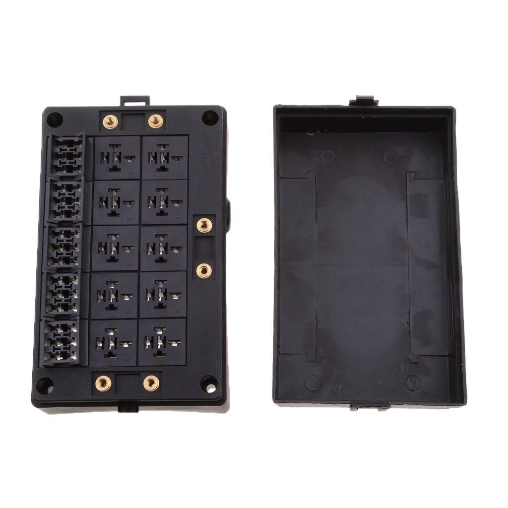Voiture véhicule 18 lame fusible 10 relais support bloc assortiment pièces électroniques - 3