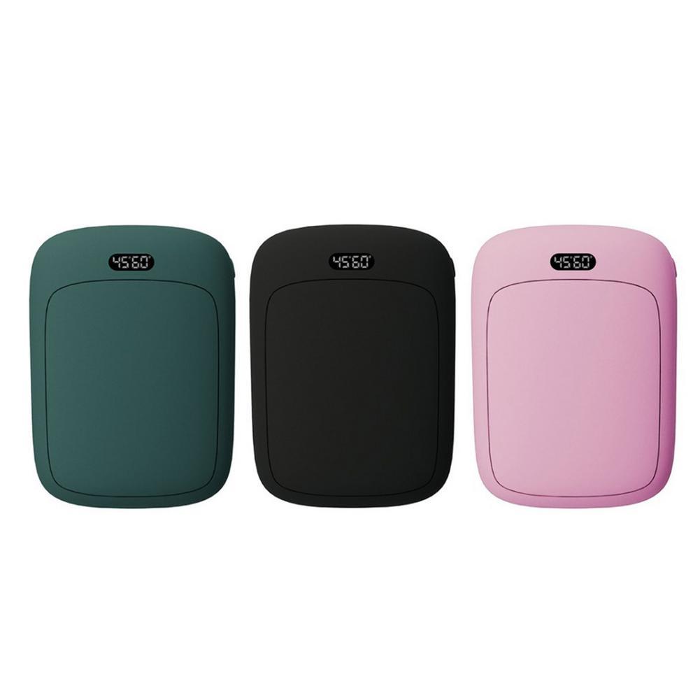 Портативный USB Перезаряжаемые электрическая грелка для рук в зимний двусторонний Отопление мини-длительный срок службы мобильного Питание...