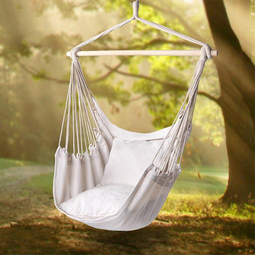 Nordic Style Hammock Single Hanging Chair Outdoor Indoor Garden